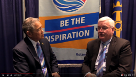 Rotary International Vice President John Matthews